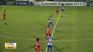 Fora de casa, CRB vence o Jaciobá por 2 a 1; veja os gols - Galo segue líder do Alagoano.