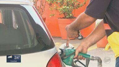 Preço do etanol tem redução de 8% durante entressafra no estado - Apesar da queda o valor continua alto.