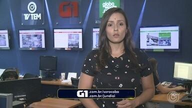Natália de Oliveira traz os destaques do G1 Sorocaba e Jundiaí desta quinta-feira - A repórter Natália de Oliveira traz os destaques do G1 Sorocaba e Jundiaí desta quinta-feira (31).