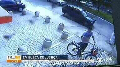 Família alega que homem foi preso injustamente em Resende e luta para provar inocência - Maycon Vinicius foi detido há 4 meses suspeito de matar policial na Itapuca. Segundo advogada, imagens de câmeras e testemunhas provam que ele estava em outro lugar na hora do crime.