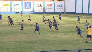 Confiança encara o Guarany na Arena Batistão - Tito deve ser poupado. Atacante quebrou jejum de gols na Copa do Nordeste contra o Sampaio.