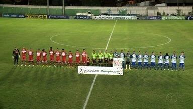 CRB enfrenta Jaciobá em coruripe e abre a terceira Rodada do Alagoano - Partida foi realizada na quarta-feira (30).