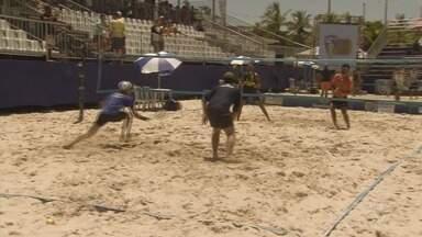 Torneio de beach tennis acontece na Arena Verão, em Guarujá - A competição foi realizada na última semana