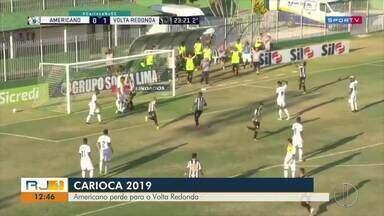 Americano perde para o Volta Redonda no Campeonato Carioca - Assista a seguir.