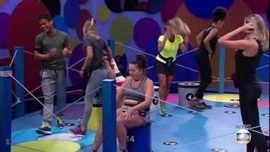 Prova do Líder Dança das Cadeiras: Danrley, Hariany e Maycon são eliminados - Brothers e Hariany são eliminados