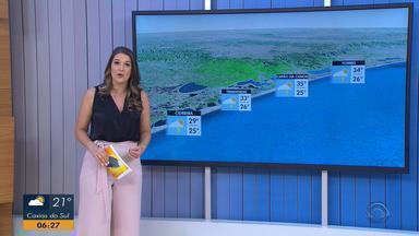 Confira a previsão do tempo para esta sexta-feira (1) no litoral gaúcho - Assista ao vídeo.