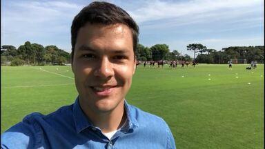 Thiago Ribeiro traz as últimas notícias do treino do Athletico desta sexta-feira - Thiago Ribeiro traz as últimas notícias do treino do Athletico desta sexta-feira