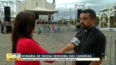 Milhares de romeiros são esperados para a Procissão das Luzes, em Juazeiro do Norte - Evento encerra a Romaria de Nossa Senhora das Candeias.