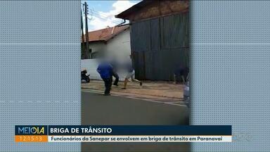 Funcionários da Sanepar se envolvem em briga em Paranavaí - O caso será investigado pela Polícia Civil.