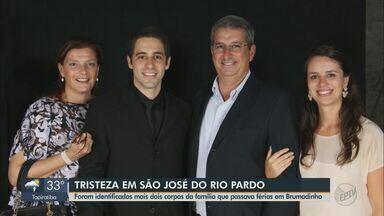 Corpos de empresário e filha mortos em Brumadinho serão cremados em Minas Gerais - Família de São José do Rio Pardo passava férias em pousada arrastada pela lama. Dois corpos continuam desaparecidos.