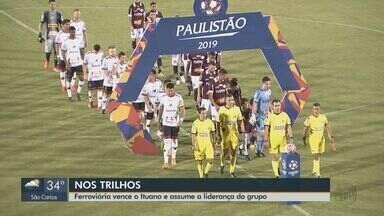 Paulistão: Ferroviária vence o Ituano e assume a liderança do grupo - Time, que perdeu por duas consecutivas, venceu na quinta-feira.