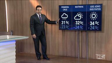 Veja como fica o tempo no Maranhão nesta sexta (1) - Tempo e temperatura para São Luís e outras cidades maranhenses