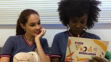 #BastidoresMalhação: Jeniffer Dias e Giovanna Rangel - Nos bastidores de 'Vidas Brasileiras', Jeniffer e Gi mostram se sabem tudo sobre as grandes rivalidades da telinha!