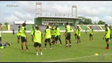 Jogadores do Paragominas voltam aos treinos após dois dias de greve - Elenco entra em acordo com a diretoria para o pagamento dos dois meses de salários atrasados