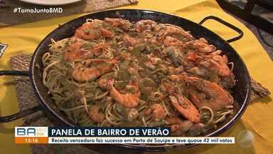 Espaguete com frutos do mar é a vencedora do 'Panela de Bairro' de verão - Prato recebeu cerca de 42 mil votos.