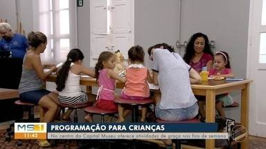 Museu em Campo Grande tem programação para as crianças no fim de semana - As atividades são de graça.