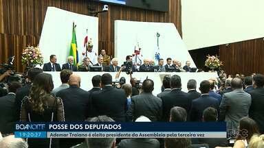 Deputados Estaduais tomam posse no Paraná - Os parlamentares assumiram o mandato que vai até 2022.