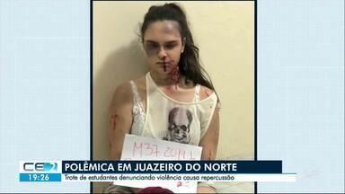 Estudantes de medicina alertam para violência em trote - Caso ganhou repercussão e divide opiniões