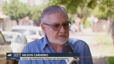 Prefeitura de Araraquara faz ações para tentar reduzir a quantidade de acidentes - Segundo coordenador de mobilidade urbana, foram colocados mais de 10 semáforos e quase 30 lombadas dentro da cidade.