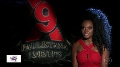 Carnaval inesquecível: madrinha de bateria da X-9 Paulistana perdeu o tapa-sexo no desfile - Em 2018, a madrinha de bateria perdeu uma parte importante da fantasia bem na hora de entrar na avenida: o tapa-sexo.