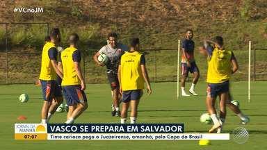 Vasco e Juazeirense se enfrentam pela Copa do Brasil - Jogo acontece nessa quarta-feira (6).