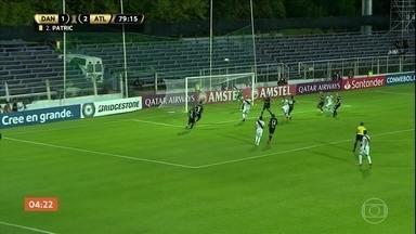 Atlético-MG empata em 2 a 2 com o Danubio - Confira os gols.