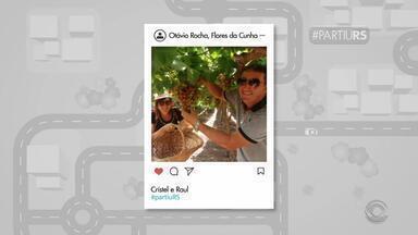 #PartiuRS: telespectadores enviam fotos de seus passeios pelo estado - Assista ao vídeo.
