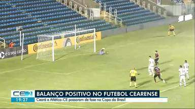 Copa do Brasil: Ceará e Atlético se classificam. Ferroviário enfrenta Corinthians - Times cearenses com saldo positivo na competição