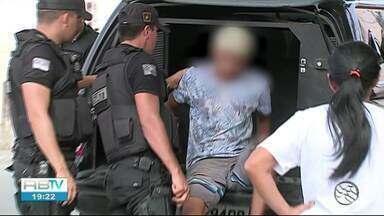 """Operação busca suspeitos de homicídio e tráfico de drogas em Caruaru - Denominada """"Impacto Integrado"""", ação liderada pela Polícia Militar contou com o apoio da Polícia Civil, da Polícia Rodoviária Federal (PRF), Detran e da Destra."""