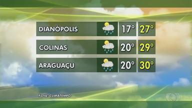 Confira como fica a previsão do tempo nas regiões rurais do Tocantins - Confira como fica a previsão do tempo nas regiões rurais do Tocantins