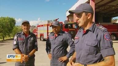 Bombeiros do Sul de Minas retornam de buscas em Brumadinho (MG) - Bombeiros do Sul de Minas retornam de buscas em Brumadinho (MG)
