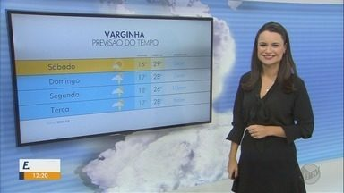 Confira a previsão do tempo para este sábado (9) no Sul de Minas - Confira a previsão do tempo para este sábado (9) no Sul de Minas
