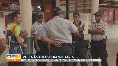 450 mil alunos da rede pública voltam às aulas na segunda-feira - E as aulas escolas terão o novo modelo gestão compartilhada com a Polícia Militar.