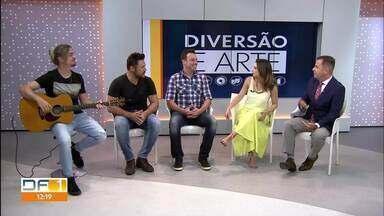 Veja aqui a primeira parte da Agenda Cultural - Tem muita música boa e entrevista ao vivo com a dupla sertaneja João Bosco e Vinícius.