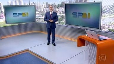 SP1 - Edição de sábado, 09/02/2019 - Duas faixas da Marginal Tietê estão fechadas para reparo em tubulação de esgoto. Concessão do Pacaembu à iniciativa privada preocupa usuários. Bairro da Liberdade celebra o ano novo chinês em São Paulo.