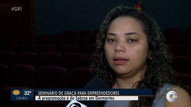 Seminário do Sebrae em Dormentes ensina como empreender com criatividade - Saiba mais da programação com a repórter Amanda Franco.