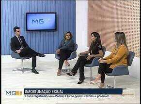 Importunação sexual é tema de debate no MG Inter TV - Nesta semana, três mulheres denunciaram um homem em Montes Claros por importunação sexual.