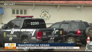 Polícia desarticula quadrilha que aplicava golpes em clientes da Caixa no interior do Pará - O grupo se aproveitava de clientes que apresentavam dificuldades em operar o caixa eletrônico. O dinheiro era enviado para contas abertas no Maranhão.
