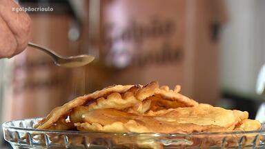 Teixeirinha Filho ensina receita dos Bolinhos da Vovó no quadro Cozinha de Galpão - Assista ao vídeo.