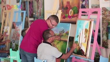 Morada das Artes é destaque no Daqui - Local é destinado a moradia de artistas e com promoções das artes visuais, a casa reúne um grande acervo com diversas obras maranhenses.
