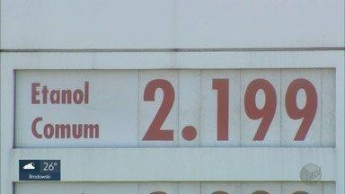 Preço do etanol é mais caro em Ribeirão Preto, SP do que nas demais cidades da região - Valor do combustível é mais barato em cidades como Franca (SP).