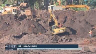 Bombeiros usam nova estratégia na busca por corpos em Brumadinho (MG) - Bombeiros usam nova estratégia na busca por corpos em Brumadinho (MG)
