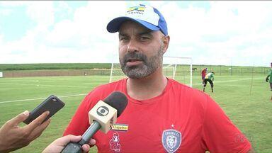 Cianorte enfrenta o Atlético Paranaense neste domingo - Técnico diz que está preparado pro jogo.