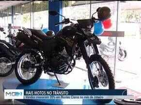 Venda de motos cresce 20% e ganha destaque no trânsito de Montes Claros - Clientes estão de olho nas oportunidades que o mercado oferece.