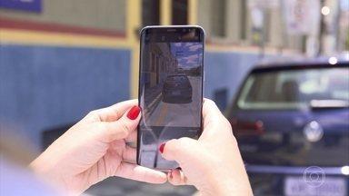 Com app, cidadão pode enviar foto de infração de trânsito - Com app, cidadão pode enviar foto de infração de trânsito
