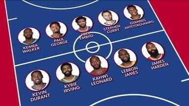 Com elencos definidos, All-Star Game da NBA tem James Harden e Lebron James no mesmo time - Com elencos definidos, All-Star Game da NBA tem James Harden e Lebron James no mesmo time
