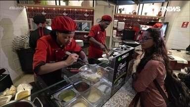 Conheça o mercado de fast food saudável