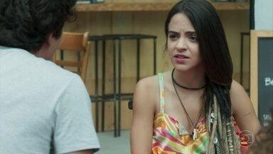 Amanda aconselha Alex a fazer um teste de DNA - Alex se recusa a acreditar que Rafael seja seu pai biológico