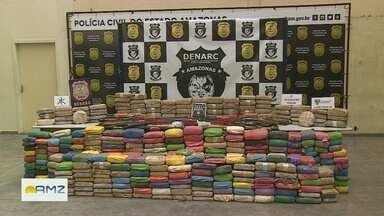 Polícia apreende 400kg de drogas em Coari, no AM - Entorpecentes estavam enterrados em um sítio.
