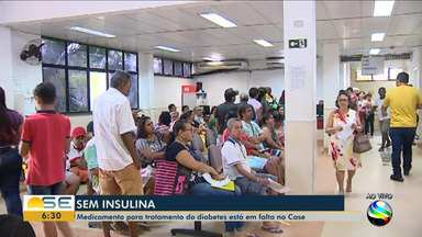 Pacientes do Case denunciam falta de insulina - Pacientes do Case denunciam falta de insulina.